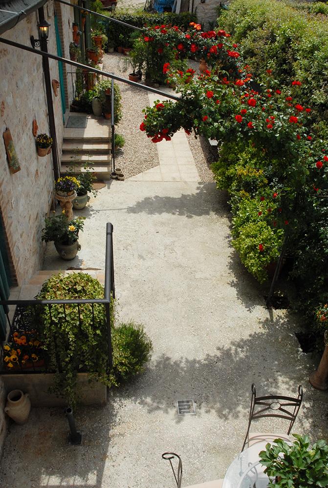 Bed and breakfast capodacqua di foligno il giardino